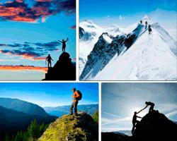 Apensar montañas