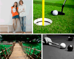 Apensar golf billar