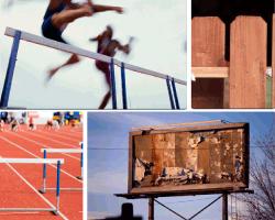 Apensar salto de obstáculos