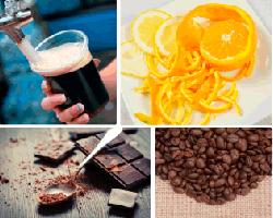 Apensar granos de café