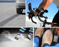 Apensar patines de hielo