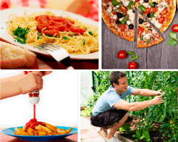 Apensar pasta pizza