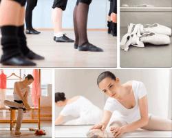 Apensar piernas de bailarinas