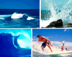 Apensar mar azul