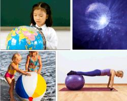 Apensar niña bola del mundo