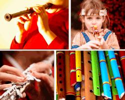 Apensar tocando flauta