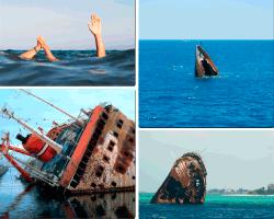 Apensar barcos hundiéndose