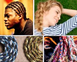Apensar cuerdas colores