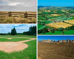 apensar campos de siembra