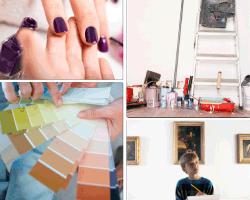 Apensar uñas pintadas