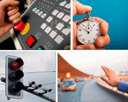 Apensar cronómetro semáforo