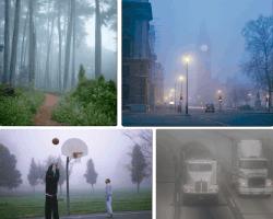 Apensar imágenes con niebla