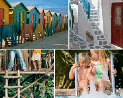 Apensar casas de colores