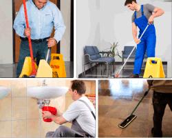 Apensar limpiar piso