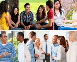 apensar amigos reunidos