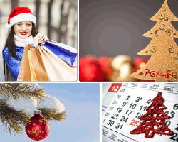 apensar adornos de navidad