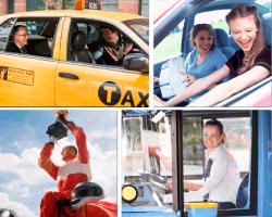Apensar taxi amarillo