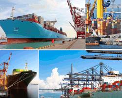 Apensar barco con contenedores a - Contenedores de barco ...