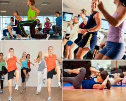 apensar personas haciendo ejercicios
