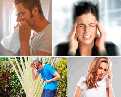 apensar mujer dolor de cabeza