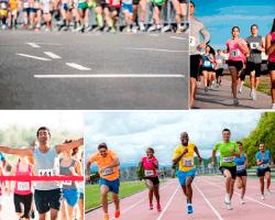 apensar carrera de atletismo