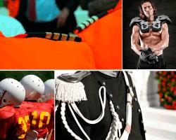apensar traje de futbol americano