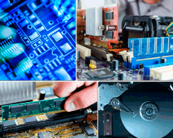 apensar piezas electronicas