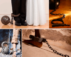 apensar cadenas esclavos