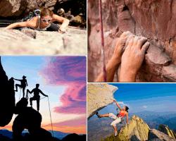 Apensar escalar montañas