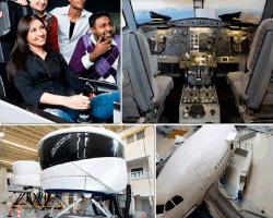 apensar cabina de avion