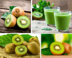 apensar frutas verdes