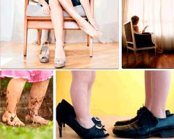 Apensar zapatos grandes