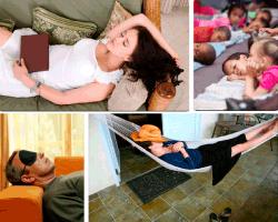 apensar mujer durmiendo en sofa