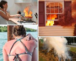 Apensar fuego en la cocina