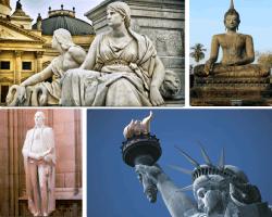 apensar esculturas