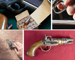 apensar balas pistolas