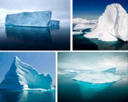 apensar hielo en el mar