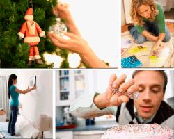 apensar adorno de navidad