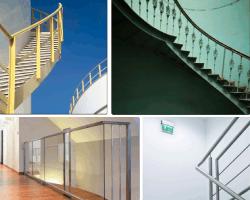 Apensar pasamanos escaleras