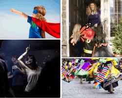 Apensar niño superhéroe