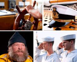 apensar timon de barco