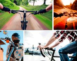 apensar volante de bicicleta
