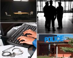apensar instalaciones de la policia