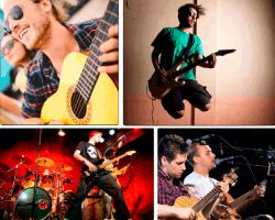 Apensar músicos tocando