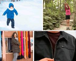 Apensar niño en la nieve