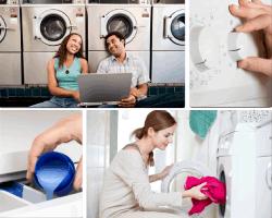 Apensar pareja lavandería