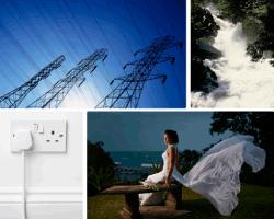 apensar torres de electricidad