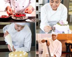 apensar chef haciendo torta