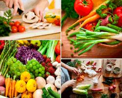 apensar verduras y frutas