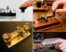 apensar aparato pulsando con dedo